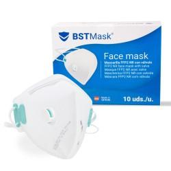 BSTMask Filtering mask FFP2 NR with valve